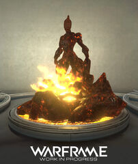 Concept Ember Relay Statue