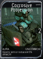 Corrosive Projection Aura