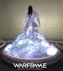 Warframe Hydroid Relay Statue