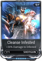 Cleanse Infested