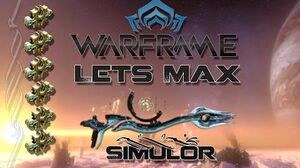 Lets Max (Warframe) E69 - Simulor + Void Trader