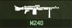 WRD Icon M240 LMG