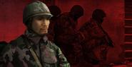 Japanese Paratrooper portrait