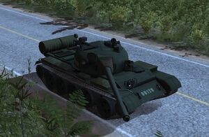 WRD Ingame T-55A