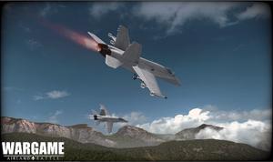 CF-18 Hornet screenshot 1