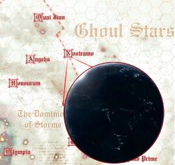 Nostramo Galaxy Map