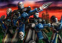 Dark Reapers Squad Alaitoc