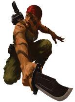 Catachan Scout female