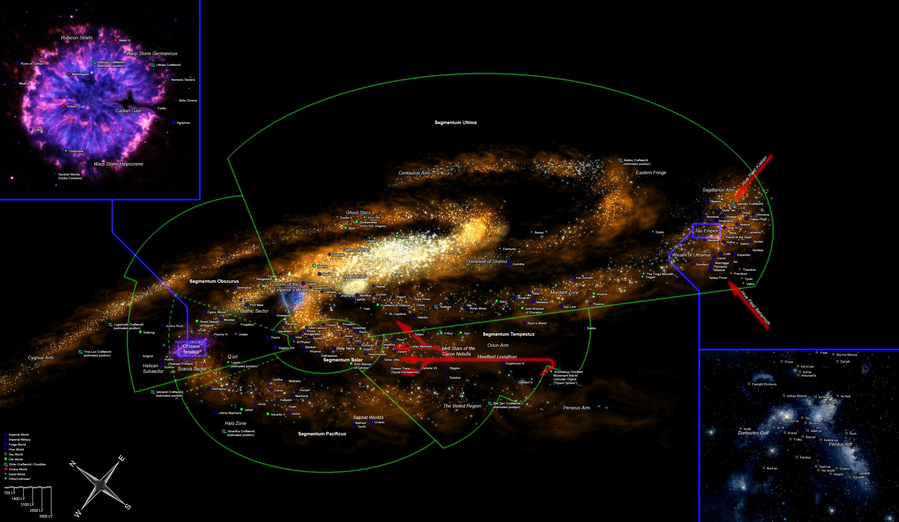 Milky Way Galaxy Warhammer 40k