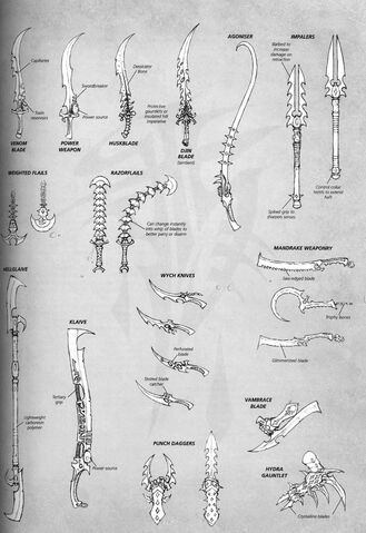 File:Dark Eldar Melee Weapons.jpg