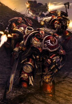 Sons of Sanguinius by MajesticChicken