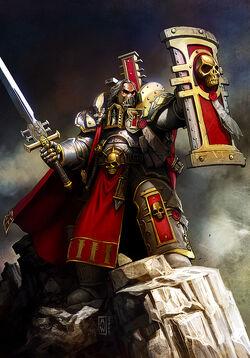 Crusader inquisitor by garang76