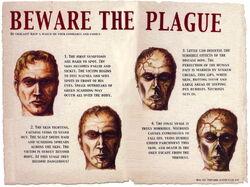 Plague Zombie Poster 1