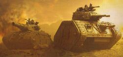 7th Regiment's Tanks 30th Inf Support