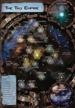 Tau Empire Galactic Map