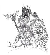 Ossorius the sanctum dark angels reclusiarch by greyall-d4u52gl