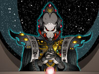 Eldar Warlock Meditation by The First Magelord