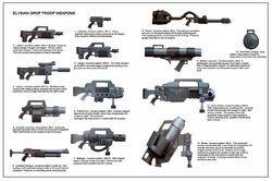 Elysian Drop Troop Weapons2