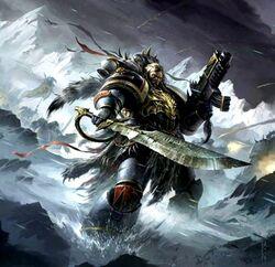 Asaheim space wolf