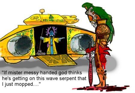 Messy Handed God