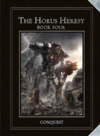 Horus Herersy Conquest Cover