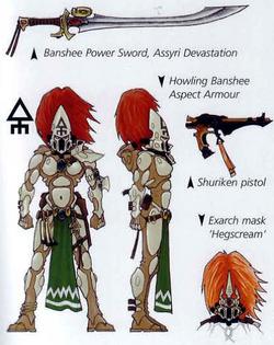 Banshee Wargear
