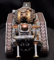 Leman Russ Incinerator rear view