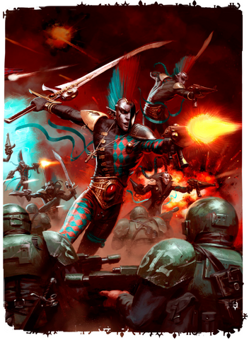 File:Harlequins vs. Cadian Shock Troops.png