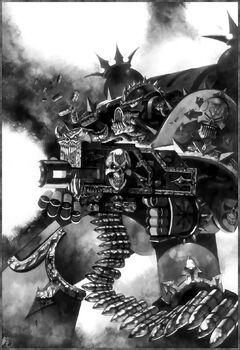 Iron Warrior Chaos Space Marine