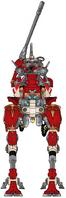 Mars Ironstrider Engine Front