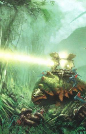 Warhammer Lizardmen Bastiladon Engine