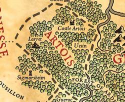 Artois map