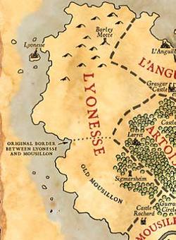 Lyonnesse map