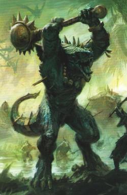 Warhammer Lizardmen Kroxigor