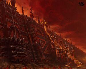 Warhammer Stairs of Khorne