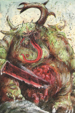 Warhammer Great Unclean Ones Arts