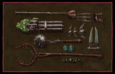 Skaven Weaponry