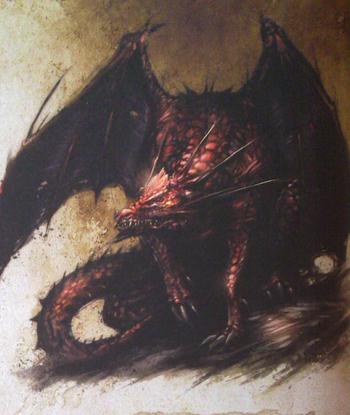 Carmine Dragon
