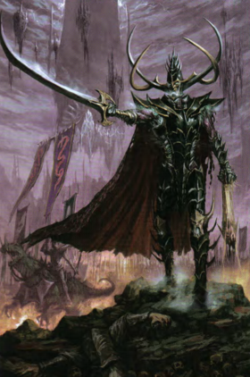 Warhammer Malekith Art Battle