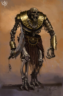 Warhammer Tomb Kings Necrolith Colossus