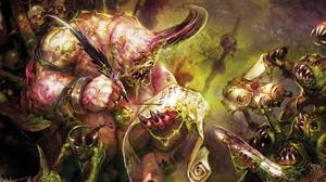 Warhammer Daemon of Nurgle Art