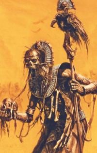 Warhammer Tomb Kings Liche Priest