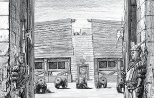 Imperial Gunnery School coutyard