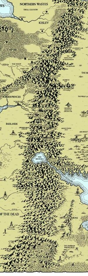 Worlds Edge Mountains Map