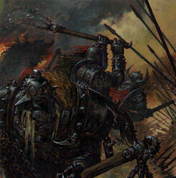 Khornate warriors
