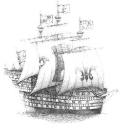 Bretonnian Galleon