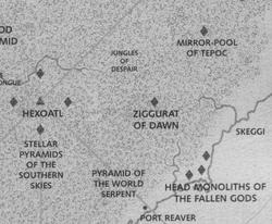 Warhammer Skeggi Map