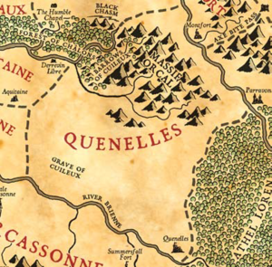 Map of quinelles