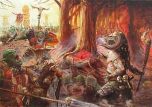 Beastmen bloodgrounds