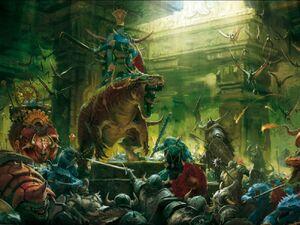 Lizardmen warfare